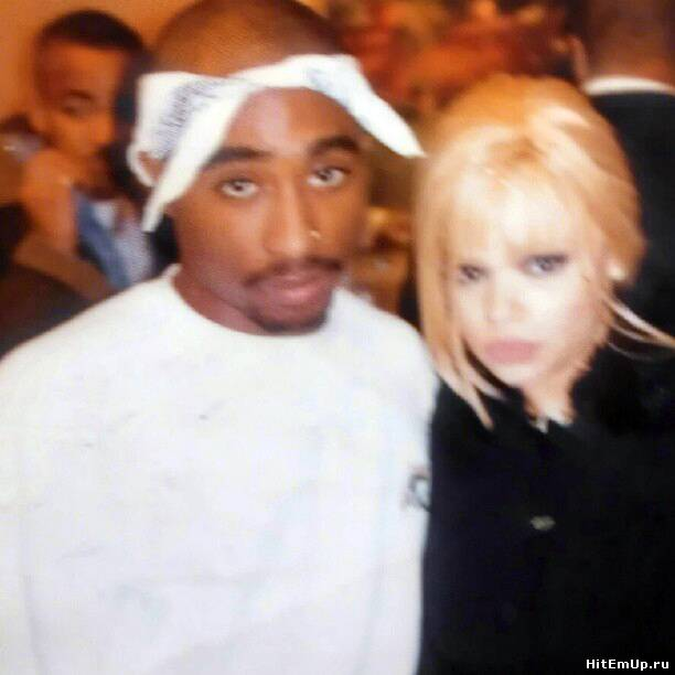 2Pac and Faith Evans