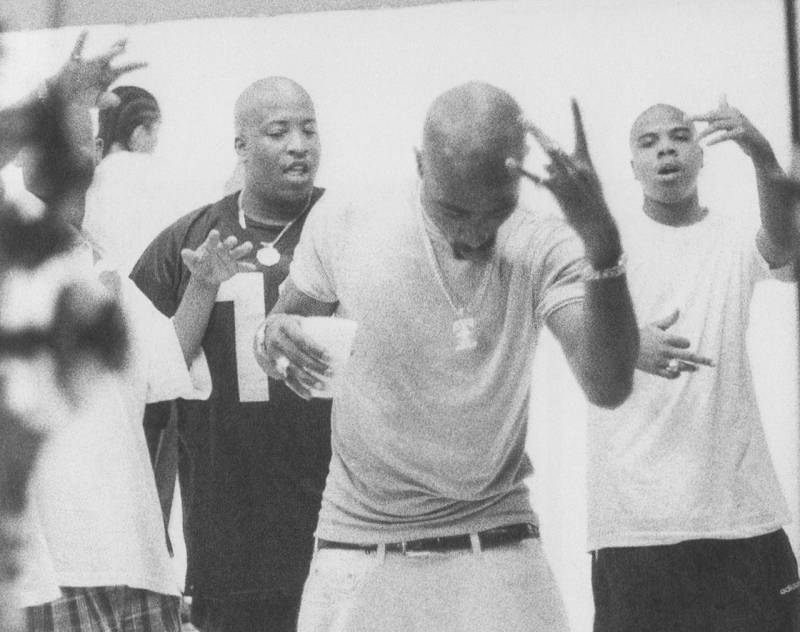 Tupac and Outlawz