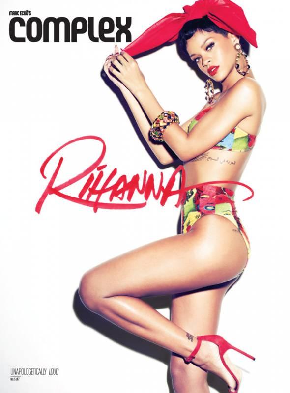 Rihanna in bandana